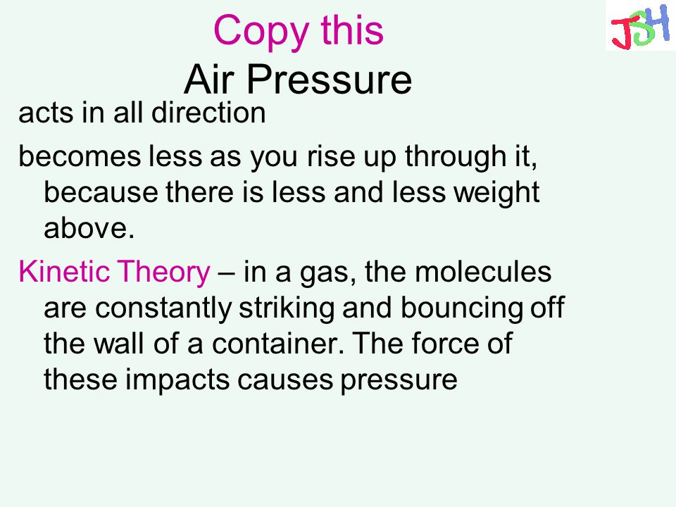 Copy this Air Pressure