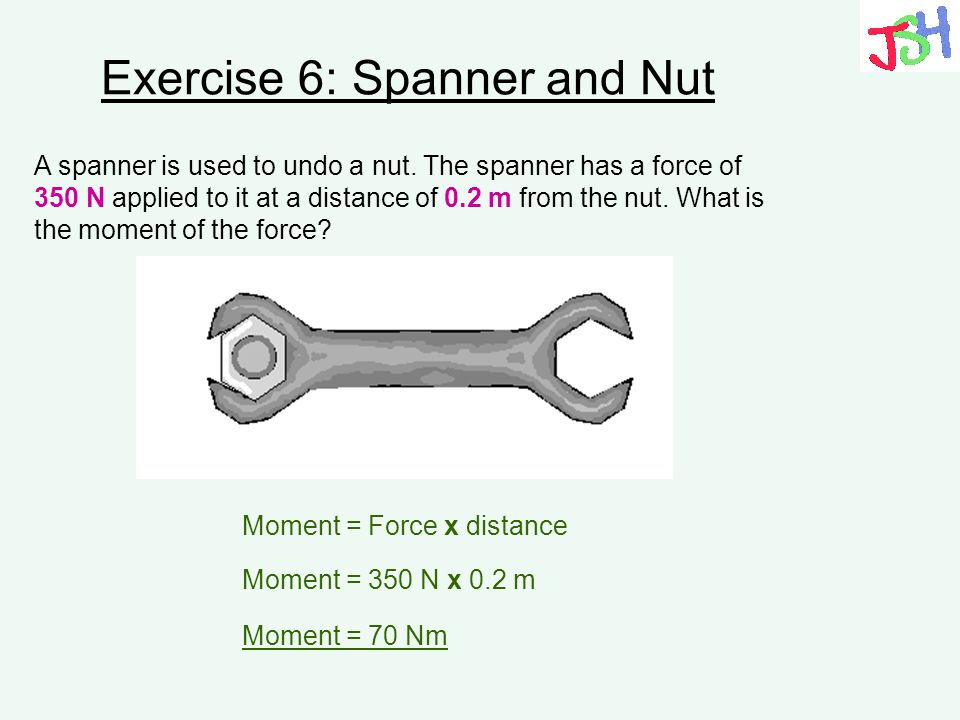 Exercise 6: Spanner and Nut