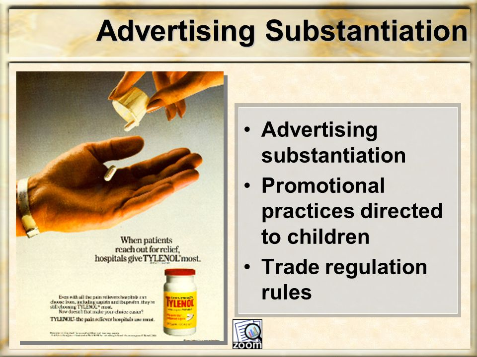 Advertising Substantiation
