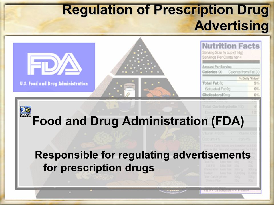 Regulation of Prescription Drug Advertising