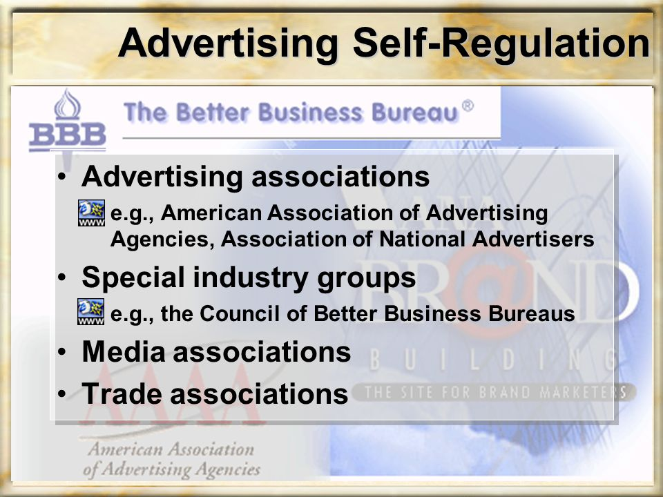 Advertising Self-Regulation