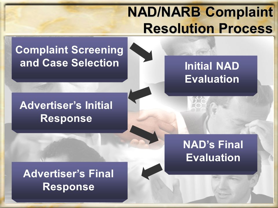 NAD/NARB Complaint Resolution Process