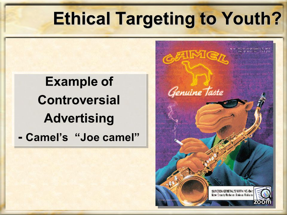 Ethical Targeting to Youth