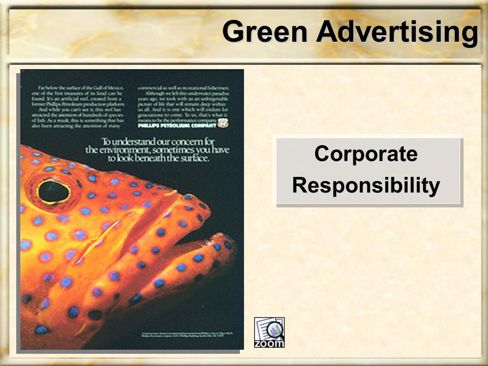 Green Advertising Corporate Responsibility