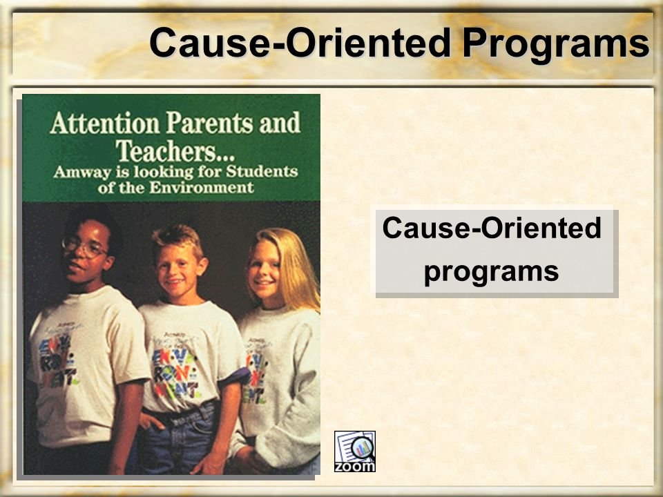 Cause-Oriented Programs