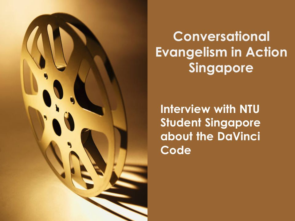 Conversational Evangelism in Action Singapore