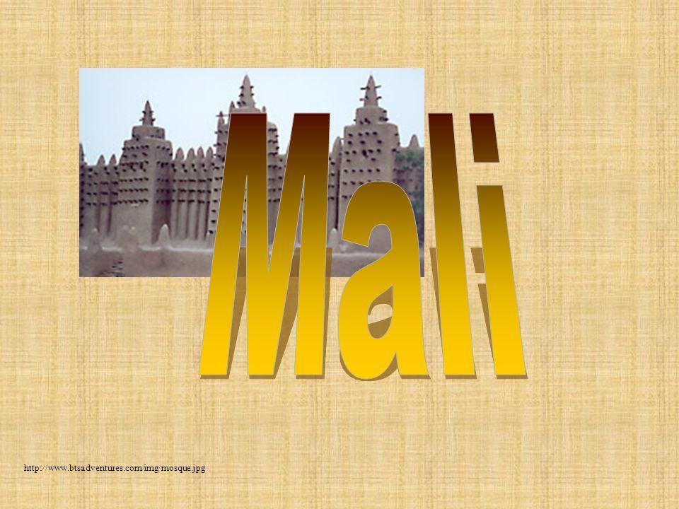 Mali http://www.btsadventures.com/img/mosque.jpg