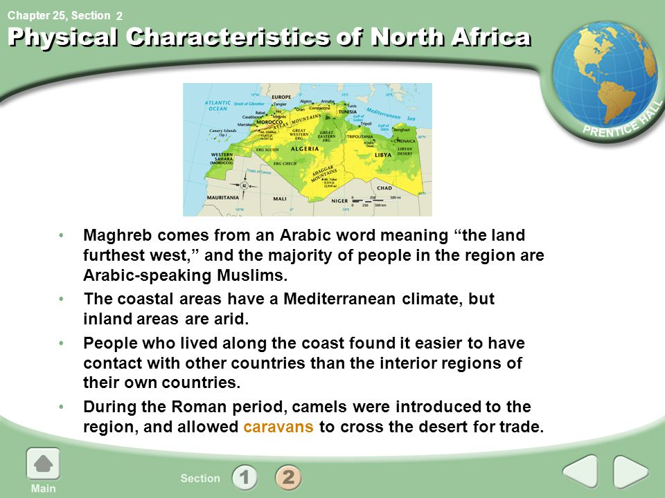 Physical Characteristics of North Africa