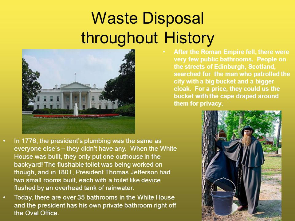Waste Disposal throughout History