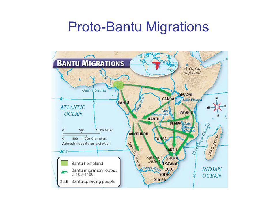 Proto-Bantu Migrations