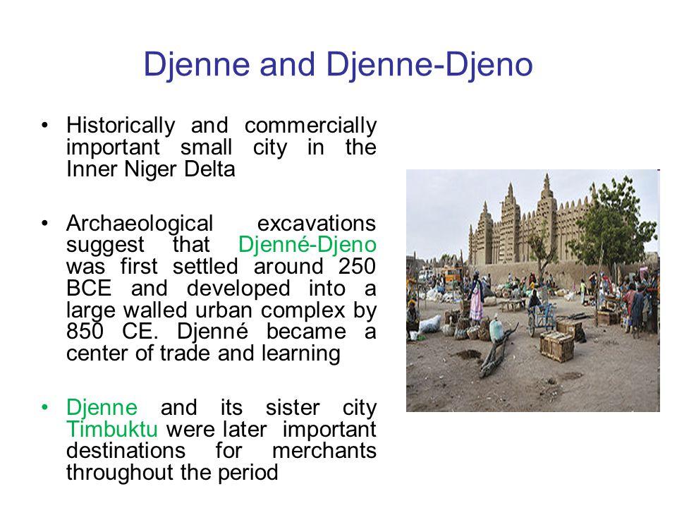 Djenne and Djenne-Djeno
