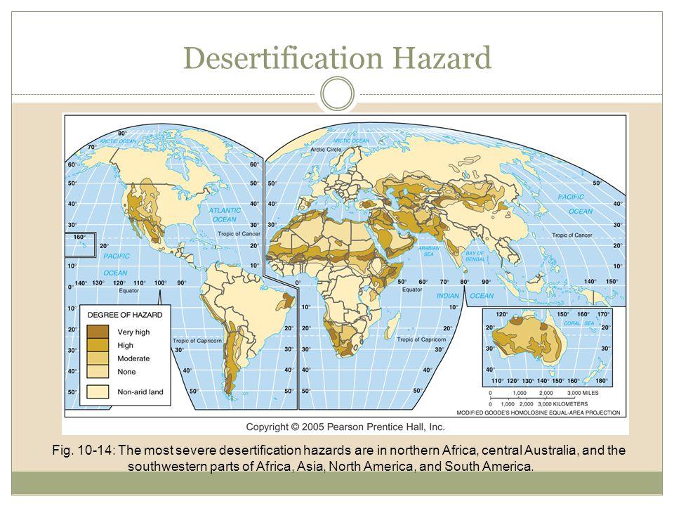 Desertification Hazard