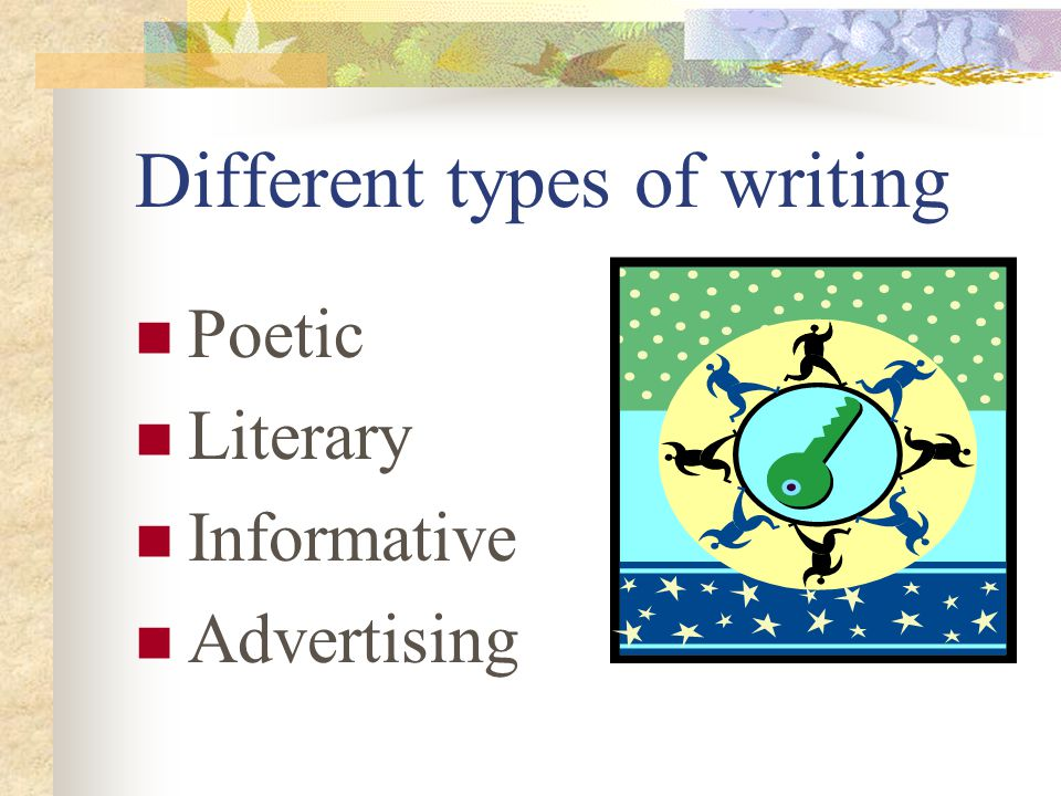 literary styles of writing
