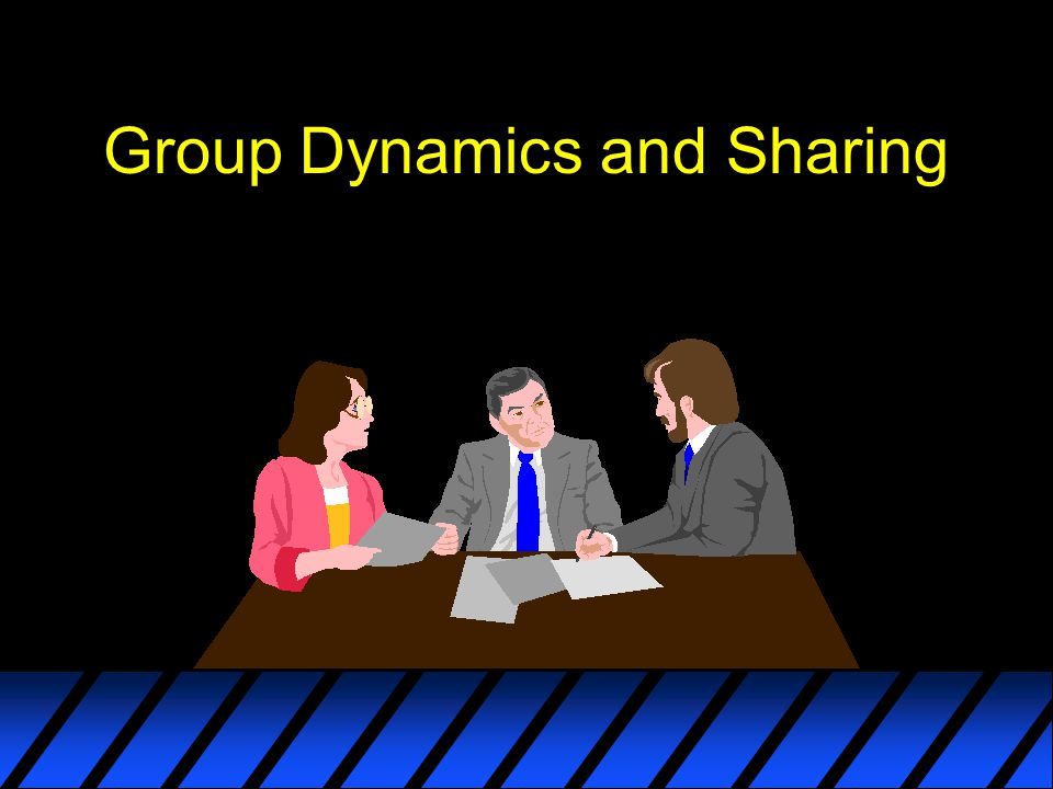 Group Dynamics and Sharing