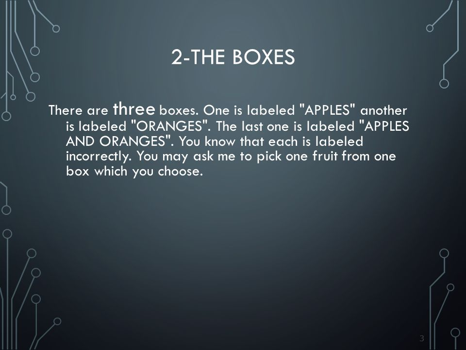 2-The Boxes