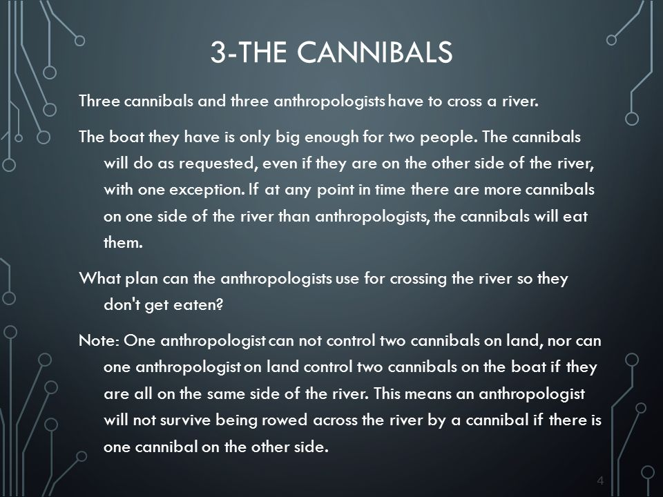 3-The Cannibals