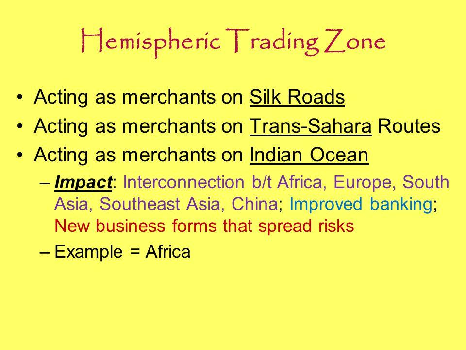 Hemispheric Trading Zone