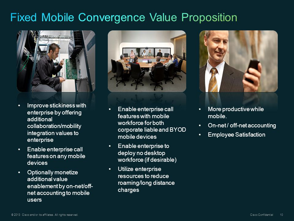 Fixed Mobile Convergence Value Proposition