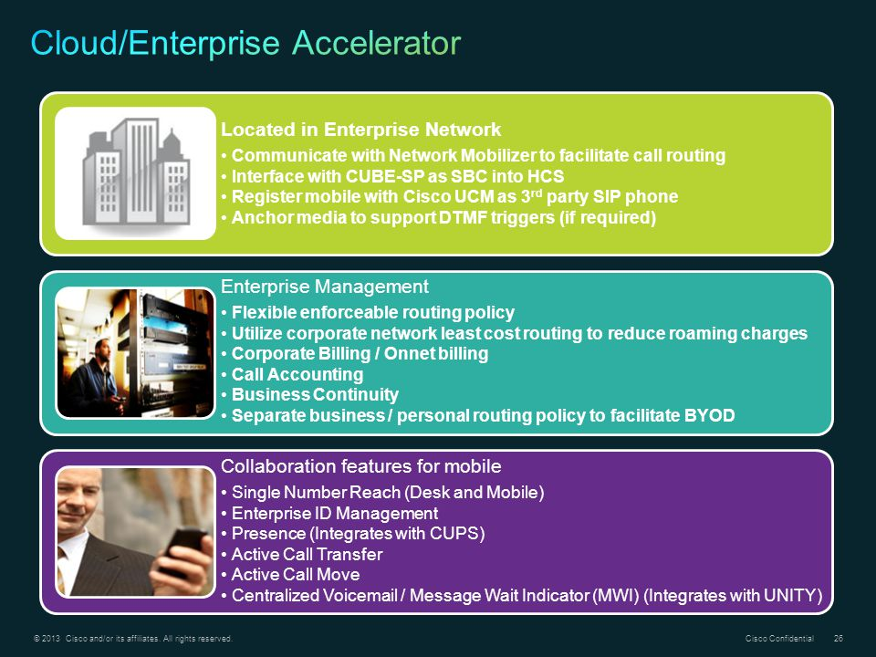 Cloud/Enterprise Accelerator