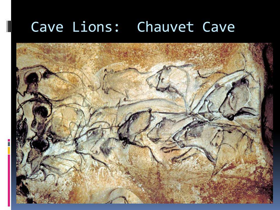 Cave Lions: Chauvet Cave