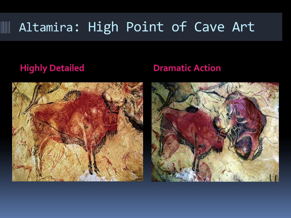 Altamira: High Point of Cave Art