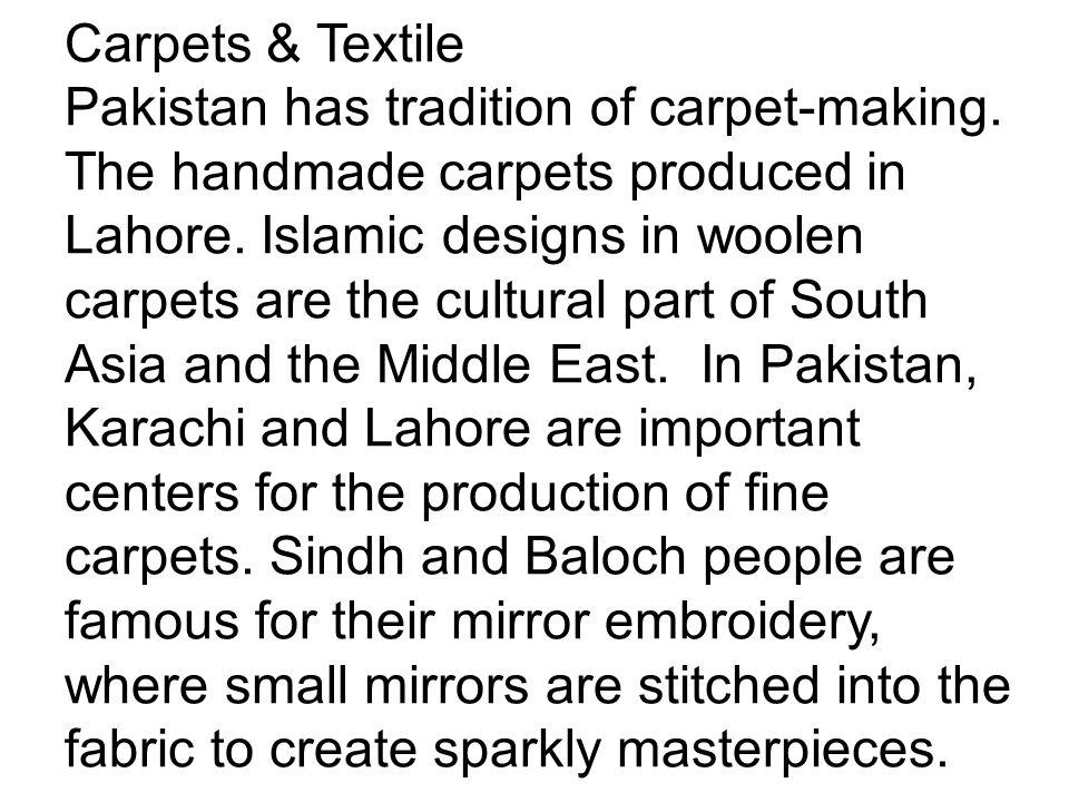 Carpets & Textile