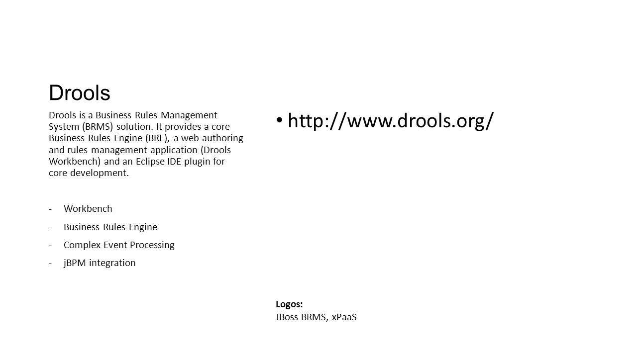 Drools http://www.drools.org/