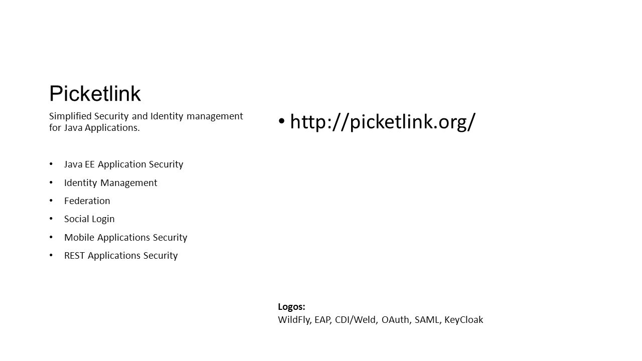 Picketlink http://picketlink.org/