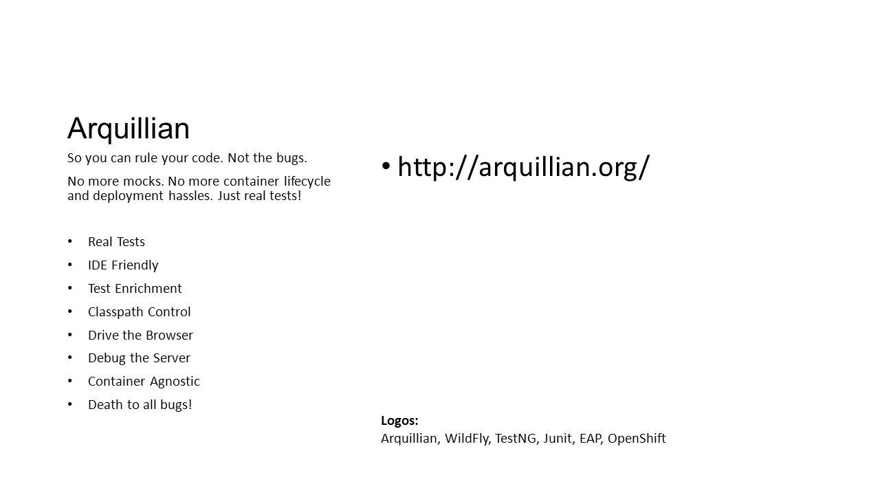 Arquillian http://arquillian.org/