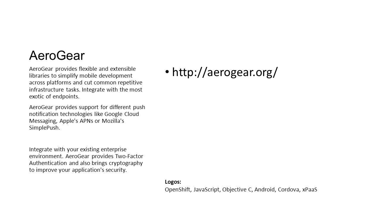AeroGear http://aerogear.org/