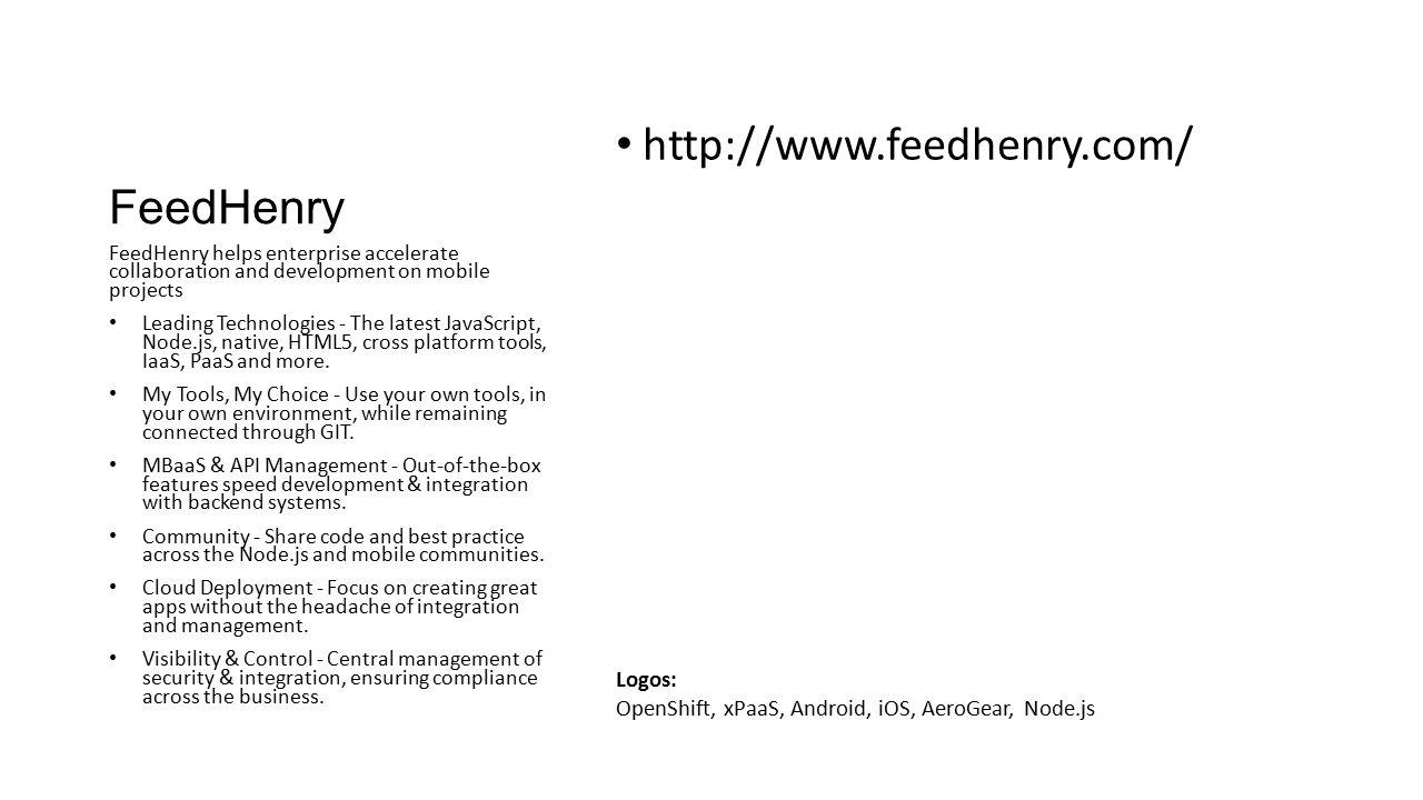 FeedHenry http://www.feedhenry.com/ Logos: