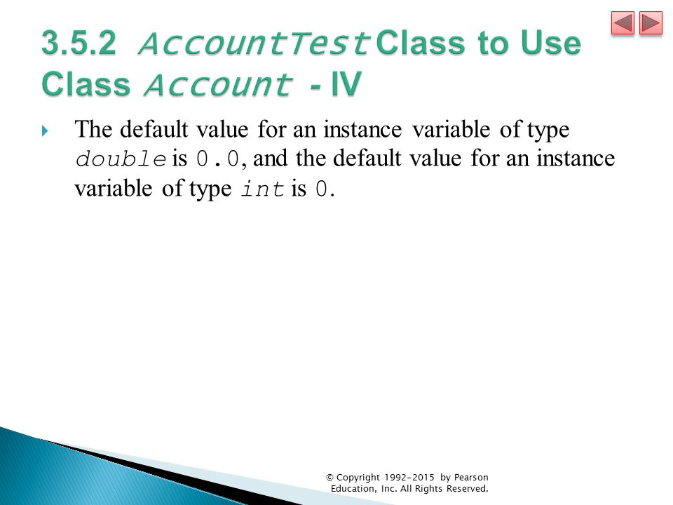3.5.2 AccountTest Class to Use Class Account - IV