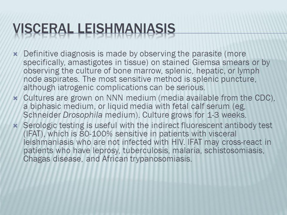 Visceral leishmaniasis