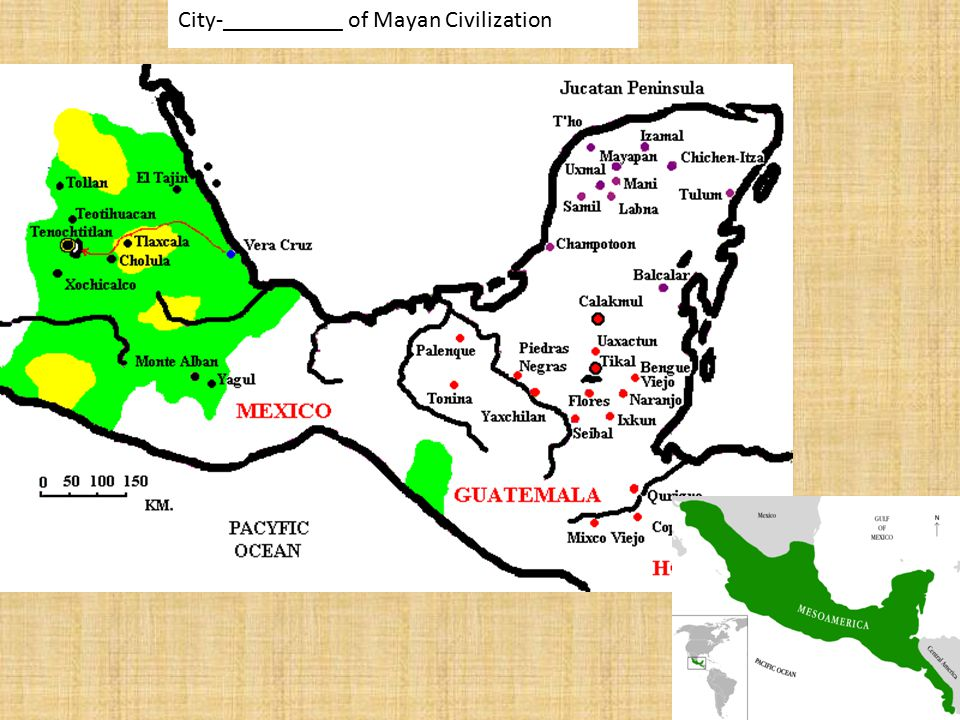 City-__________ of Mayan Civilization