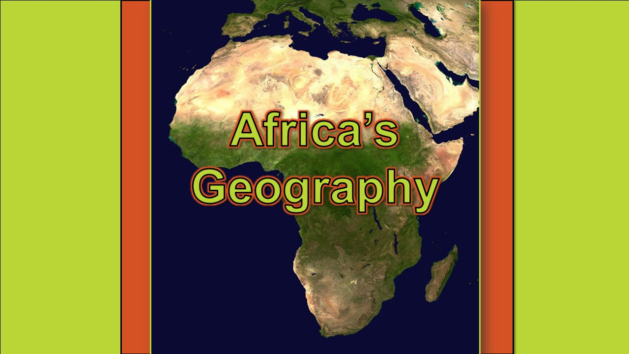 Africa's Geography