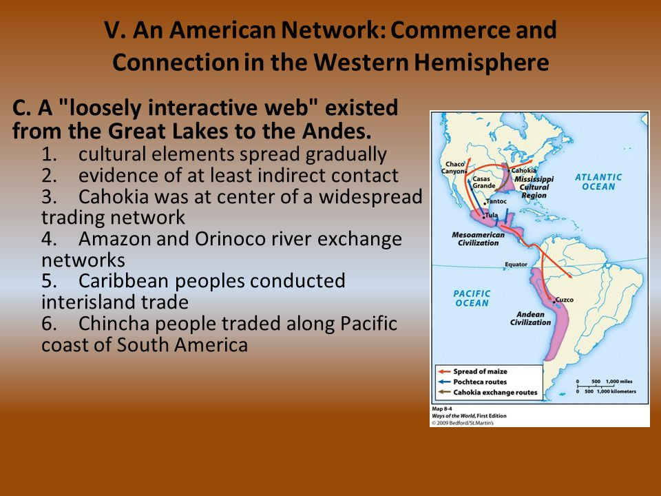 V. An American Network: Commerce and Connection in the Western Hemisphere