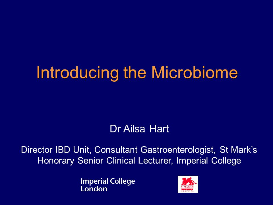 Introducing the Microbiome