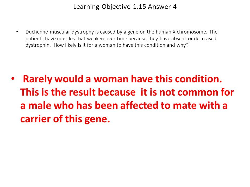 Learning Objective 1.15 Answer 4