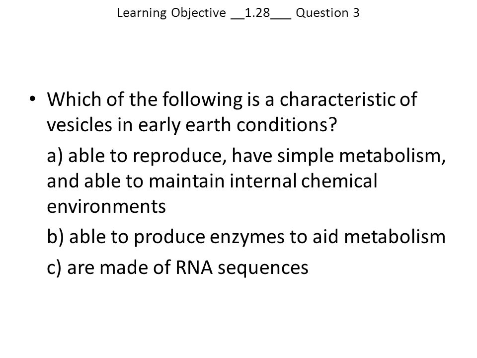 Learning Objective __1.28___ Question 3