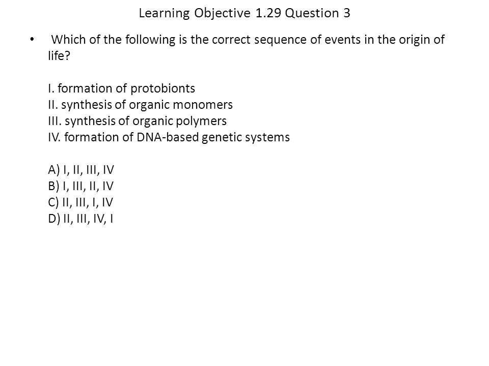 Learning Objective 1.29 Question 3