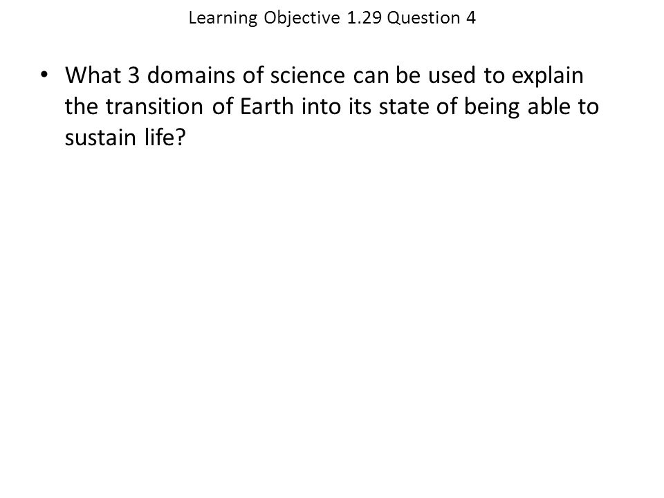 Learning Objective 1.29 Question 4