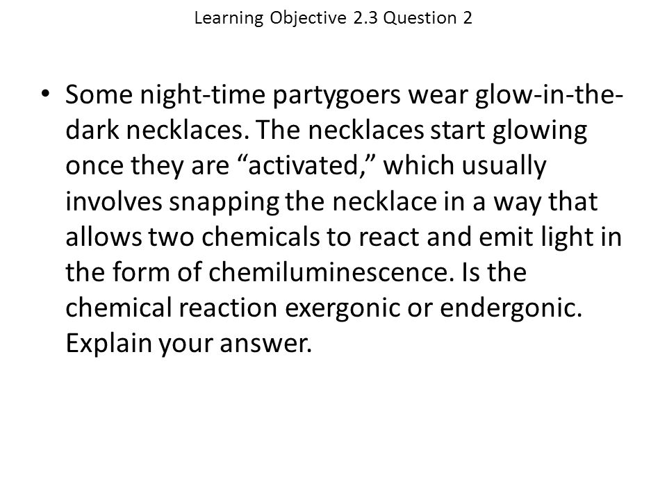 Learning Objective 2.3 Question 2