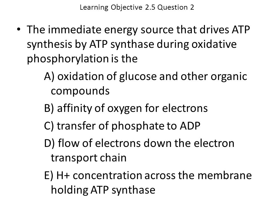 Learning Objective 2.5 Question 2
