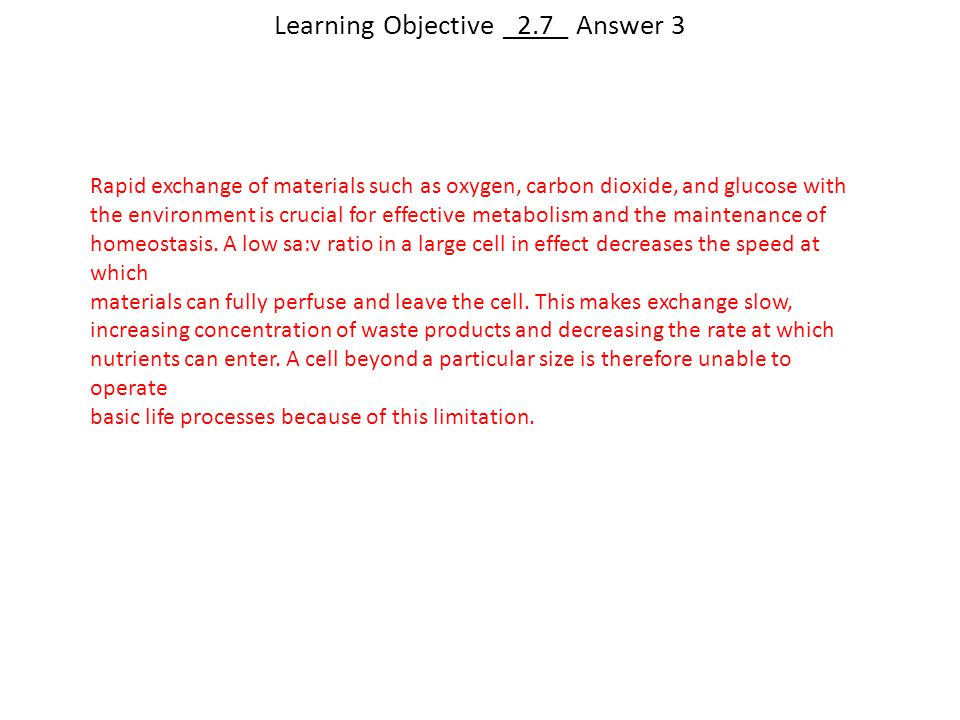 Learning Objective _2.7_ Answer 3