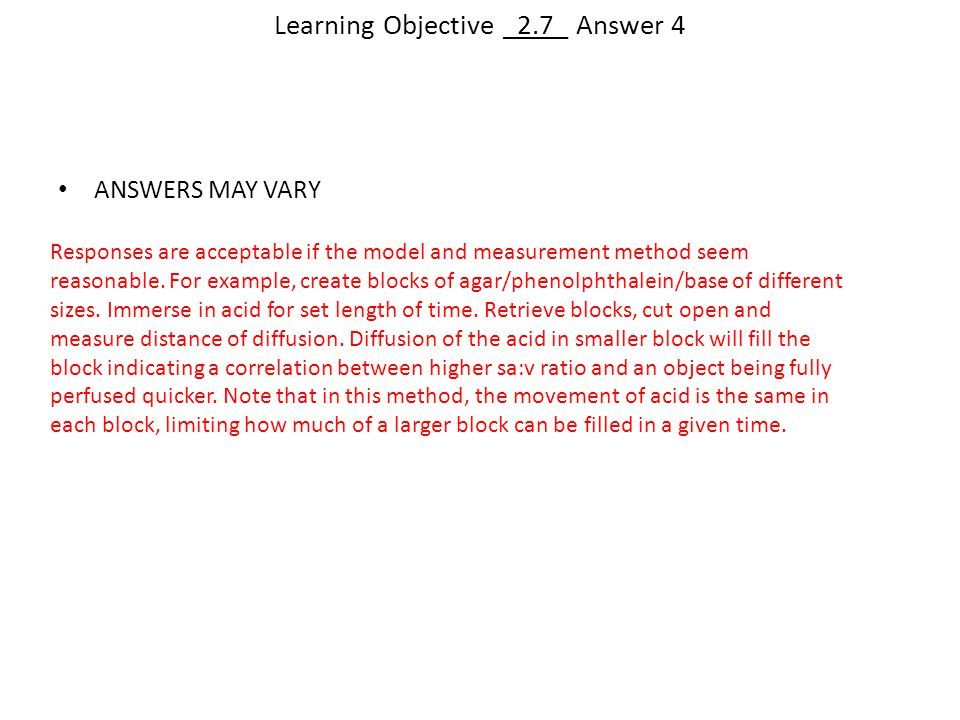 Learning Objective _2.7_ Answer 4