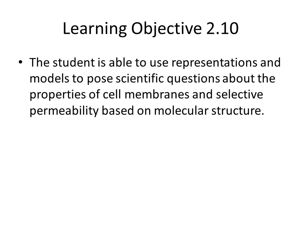 Learning Objective 2.10