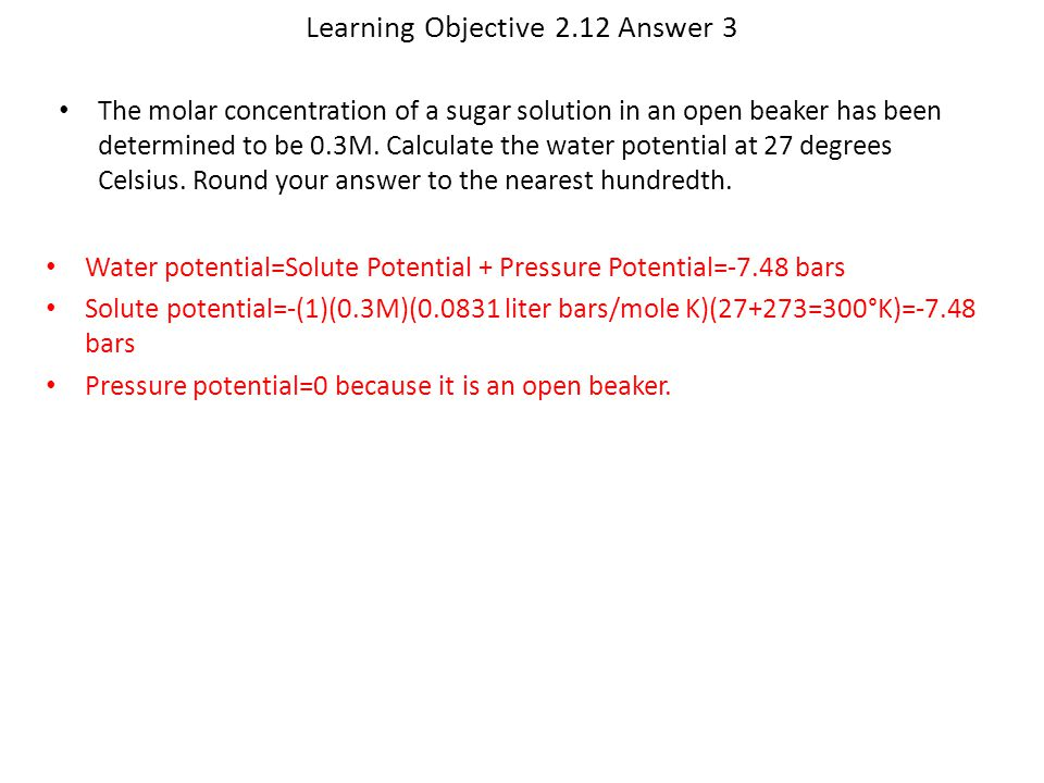 Learning Objective 2.12 Answer 3