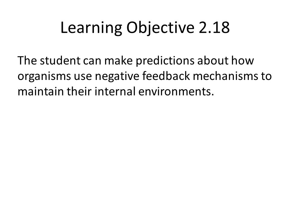 Learning Objective 2.18