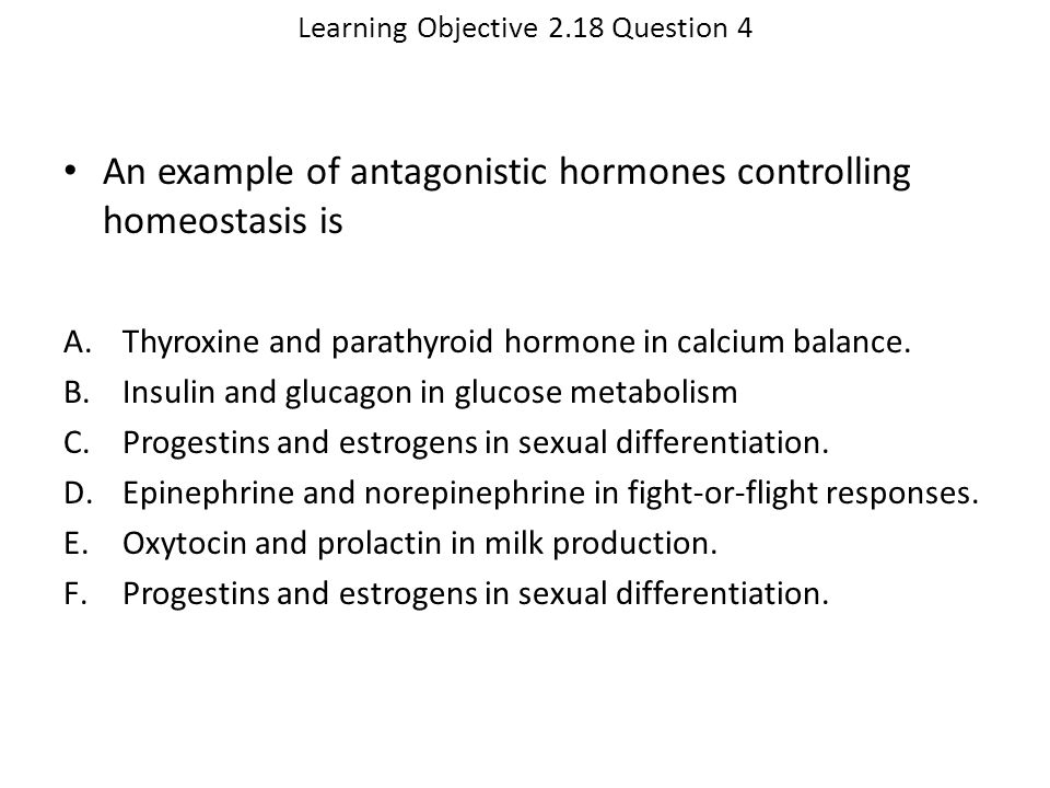 Learning Objective 2.18 Question 4
