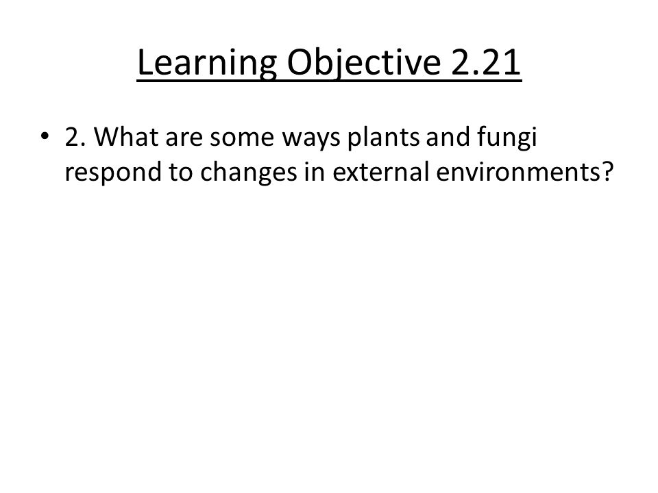 Learning Objective 2.21 2.